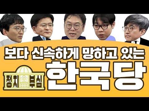 [정치부심] #1-1 보다 신속하게 망하고 있는 한국당
