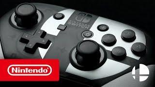 Nintendo Switch Pro Controller Super Smash Bros. Ultimate edition Reveal