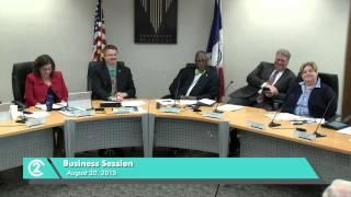 City of Kansas City, Missouri Business Session - Aug. 20, 2015