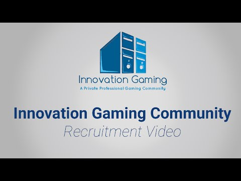 Innovation Gaming - Recruitment Video