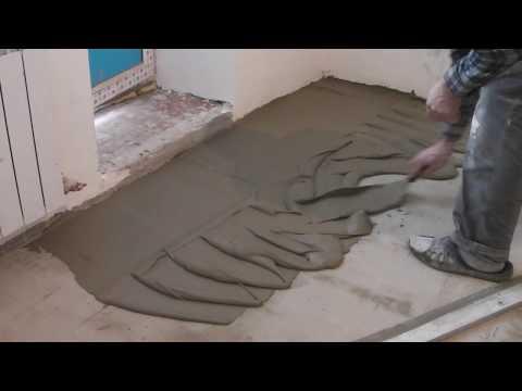 Как выровнять бетонную стяжку после заливки