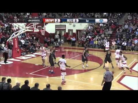 IHSAA Boys Basketball Game Of The Week-February 28, 2015-Evansville Reitz At Southport