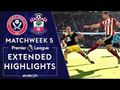 Sheffield United v. Southampton   PREMIER LEAGUE HIGHLIGHTS   9/14/19   NBC Sports