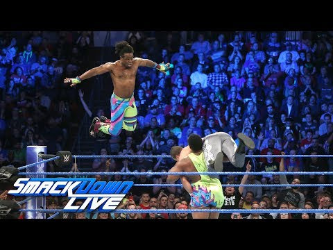 The New Day vs. The Colons: SmackDown LIVE, June 6, 2017