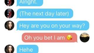 Texting My Crush Story