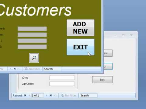 Access Database - How To Improve Access Form Design - YouTube
