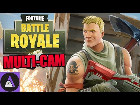 🚩 Fortnite Battle Royale Squads PC Gameplay 🚩 Fortnite Battle Royale Multi-Cam Gameplay