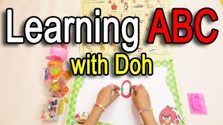 Learning A B C For Children Play Doh | preschool educational videos