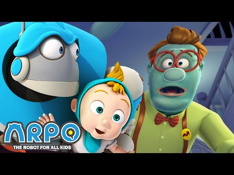 Arpo The Robot For All Kids   Run For Your Life | Full Episode | Arpo And Daniel