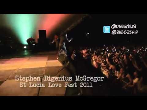 Stephen Di Genius Mcgregor Performing Live at Lovefest St. Lucia.