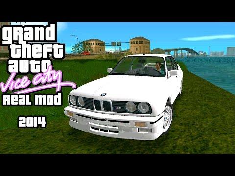 Новый Сюжет, Тачки, Музыка, Текстурки - GTA VC Real Mod 2014
