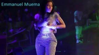 Nicki Minaj Flashes Her Boobs And Grabs Her Ass