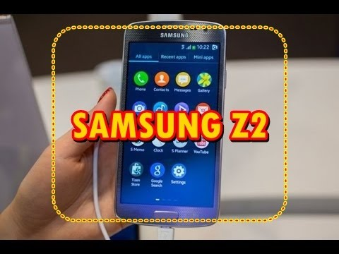 Samsung Z2 official video surfaces, reveals key specs and features