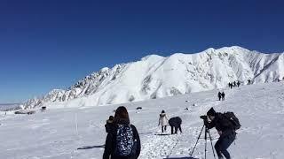 北アルプス立山連峰を貫く立山黒部アルペンルートのクライマックス、立...
