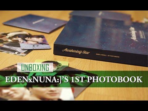 Unboxing: EdenxNuna:]'s 1st Photobook - Awakening Star (Chen)