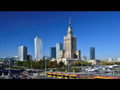 Варшава. Экскурсия по городу / Warsaw. City Tour.