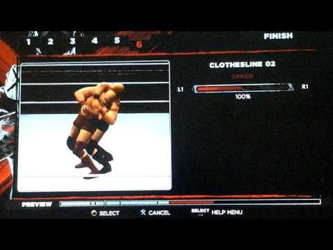 How To Create Wade Barrett's Finisher Bull Hammer