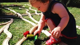 Brio Toy Train On The Grass - Big Train Set