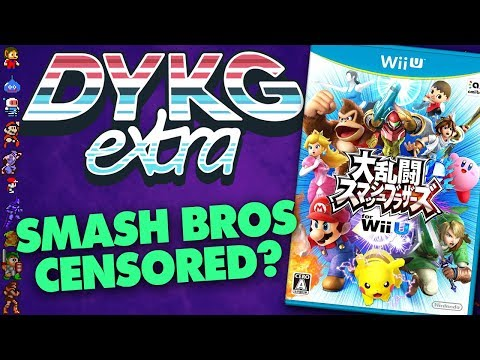 Super Smash Bros Wii U Censored in Japan - Did You Know Gaming extra Feat. Dazz