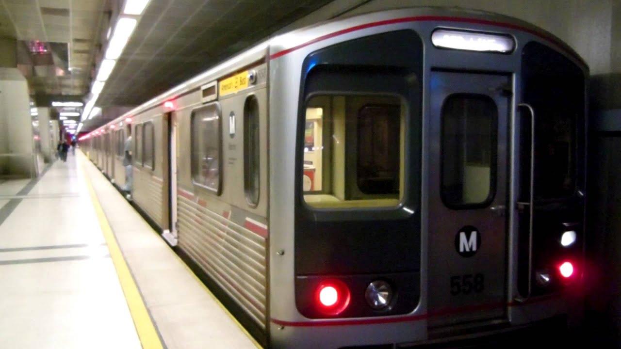 Two LA Metro Red Line ...