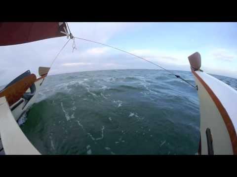 Mon Tiki Sailing Off the Coast of the Delmarva Pennensula