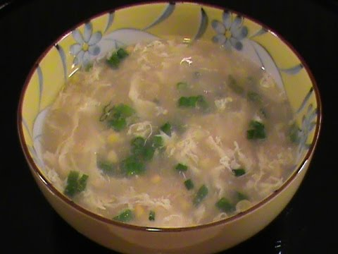 Chinese Egg Drop Soup — Quick & Easy Vegetarian Cuisine  by Chinese Home Cooking Weeknight Show