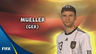 Thomas Mueller - 2010 FIFA World Cup