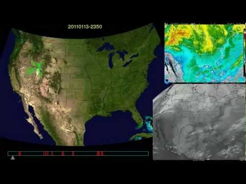 2011 whole year weather radar & satellite U.S.