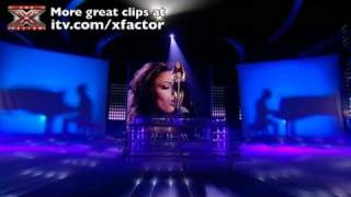 Cher Lloyd sings Sorry Seems To Be/Mocking Bird - The X Factor Live show 6 - itv.com/xfactor