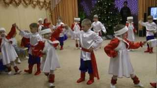 танец зимушка, новый год в садике mpg