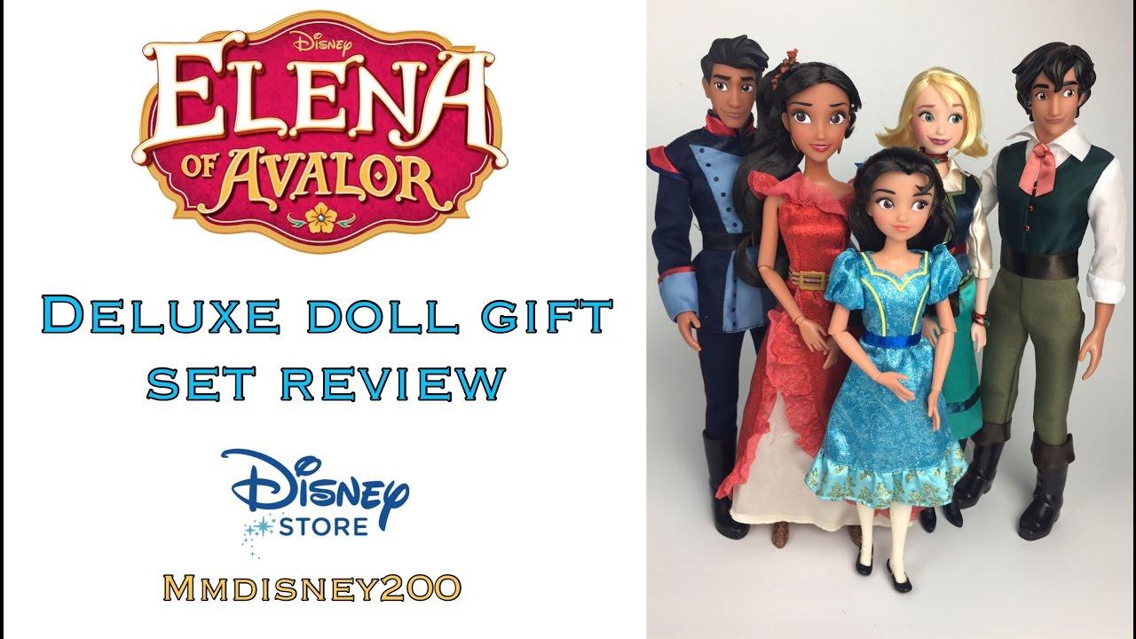 Disney Store Princess Elena Of Avalor Classic Doll