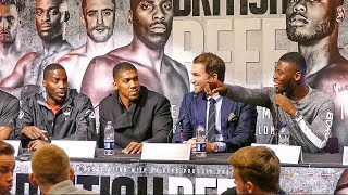 BRITISH BEEF! | Lawrence Okolie vs Isaac Chamberlain | Anthony Joshua Co Promoter with Eddie Hearn