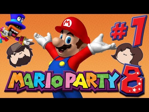 Mario Party 8: The Star Carnival - PART 1 - Game Grumps VS