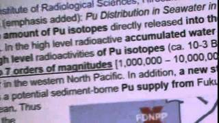 FUKUSHIMA: 10 MILLION TIMES NORMAL PLUTONIUM 239, 240, 241, 242,
