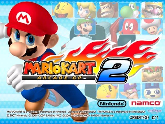 Let's Play: Mario Kart Arcade GP 2 (Longplay)