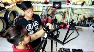 The Fixie Shop - Build an 8bar fixed gear bike.