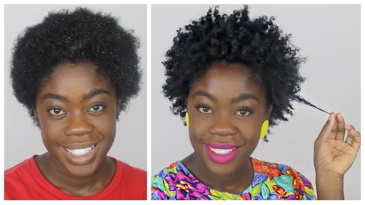 Twist Out On Short Twa 4c Hair Big Chop Hairstyles Youtube