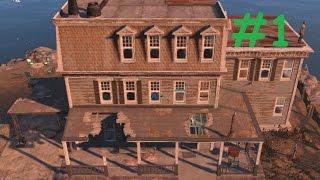 Fallout 4 - Воccтанавливаем особняк Крупов (стройка #1)