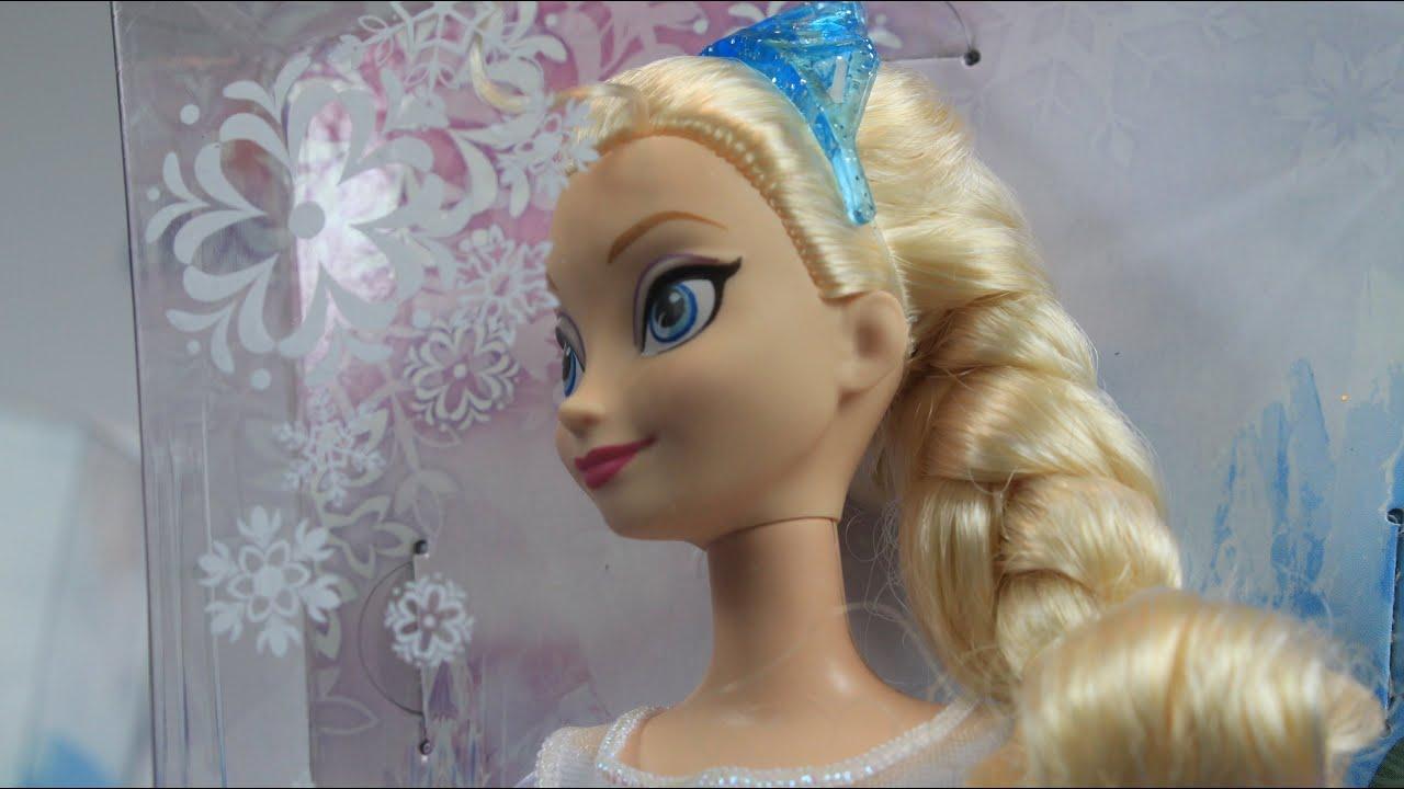 """19 авг 2014. В этом видео я сделаю обзор на главную героиню мультфильма """"холодное сердце"""" эльзу (disney store frozen elsa doll), поделюсь."""