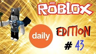 ROBLOX xbox one lets play super bomb survival [ daily edition 43 ]