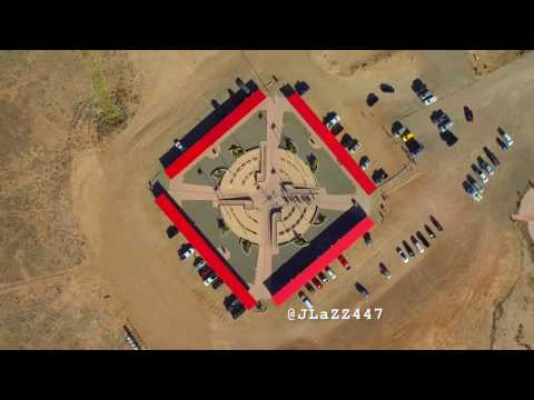 Four Corners Monument Drone Footage - DJI Phantom 3 Standard