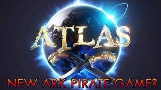 ATLAS TRAILER NEW ARK GAME l MMO PIRATE!!????⛵