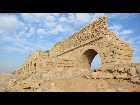 Shlomo Aronson Projects: Caesarea Archeological Park