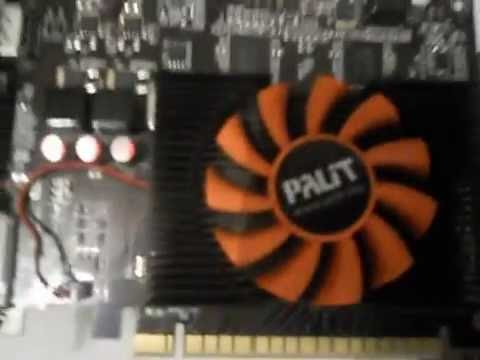Ремонт видео карты Palit GT-440. (1часть)