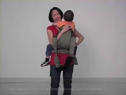 85718639c20 Scootababy Carrier Front Carry - YouTube