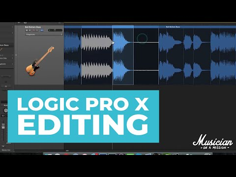 Audio Editing & Tools In Logic Pro X (Tutorial)