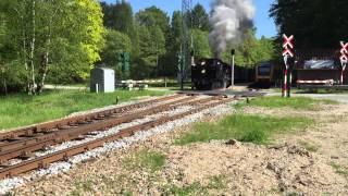 Gribskov. Maarum Station. (DSB. K 582 og det nye LB tog)