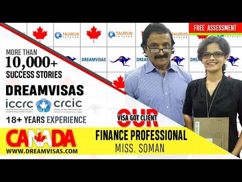 Mugda Our Canada PR Visa got Financial Analyst with Manoj Palwe