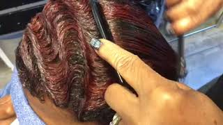 How to do easy finger waves with combs