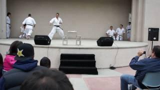 Yamaki Karate Demonstration, Board Breaking By Shihan Kenji Yamaki
